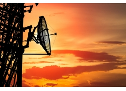 城市信號衛星接收器