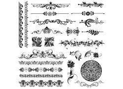 创意花纹装饰图案