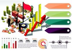 折线统计金融信息图表