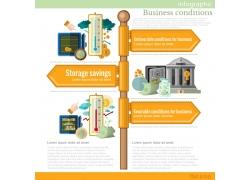 温度金融信息图标