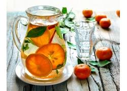柠檬水与柑橘图片