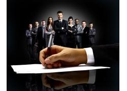 专业的商务团队