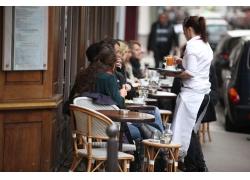 咖啡馆的顾客