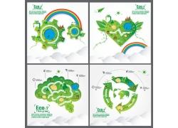 生态环保信息图表设计
