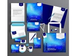蓝色星空vi设计