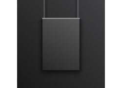 黑色海报设计