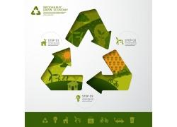创意环保图表设计