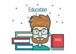 知识丰富的大学生