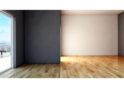 简约客厅装修木地板