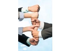 握拳加油商务团队