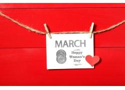 妇女节明信片