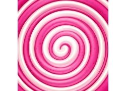 粉色漩涡糖果背景
