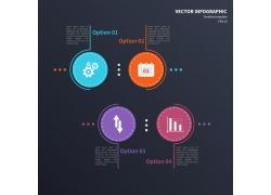 齿轮商务圆形图表
