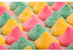 彩色软糖果背景