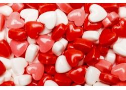 爱心糖果背景