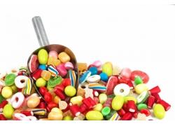 彩色糖果背景
