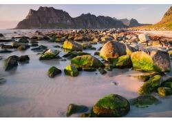 海岸石头风景