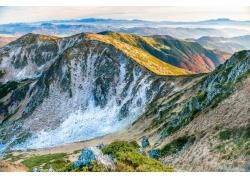 高原山脉景色