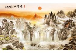 山水风景中国画