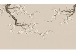 梅花中国画