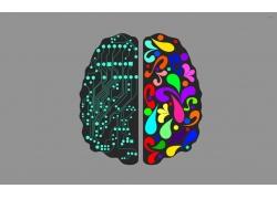 电子大脑壁纸