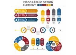 创意数字图表设计