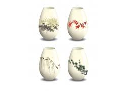 中国瓷器漫画