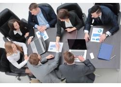 研究图表商务团队