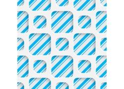 蓝色线条与网格背景