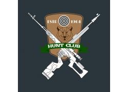 猎人俱乐部徽标设计