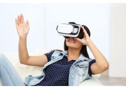 拿VR女性人物背景