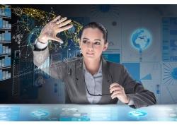 科技信息人物摄影