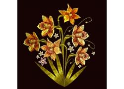植物花朵图案