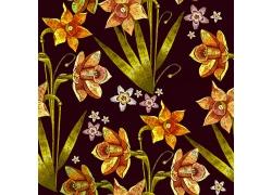 小花朵植物花朵图案