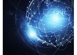 互联网科技地球