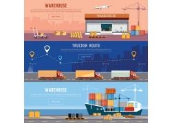 物流运输背景设计