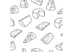 美食奶酪设计