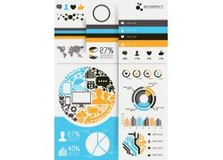 人口分布创意图表