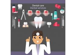 牙科医疗背景设计