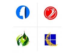 彩色图标标志设计