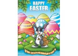 复活节广告背景设计