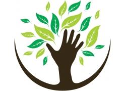 绿色环保LOGO标志设计