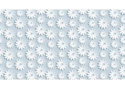 白色花朵图案背景