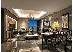 豪华客厅装修效果图