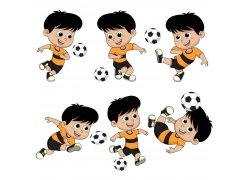 足球小男孩
