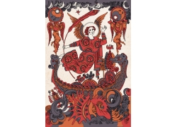 古典神话人物背景