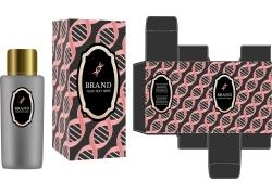 粉色幾何化妝品盒子