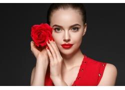 玫瑰花女人