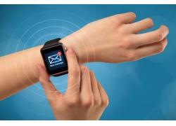 美女手智能手表
