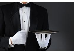 酒店专业服务生